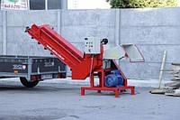Измельчитель веток Arpal АМ-120Ш с электродвигателем 18,5 кВт (диаметр веток 120 мм)