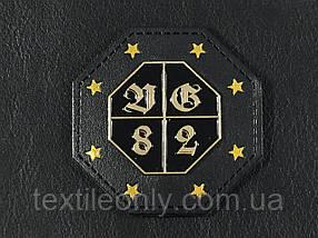 Нашивка D&G 82 цвет черный 55х55мм