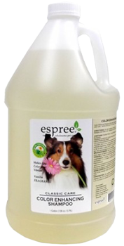 Espree Color Enchancing Shampoo, 3,79 л - цветонасыщающий шампунь для собак с ромашкой и календулой