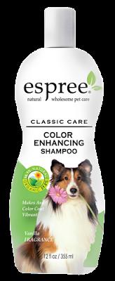 Espree Color Enchancing Shampoo, 355 мл - цветонасыщающий шампунь для собак с ромашкой и календулой