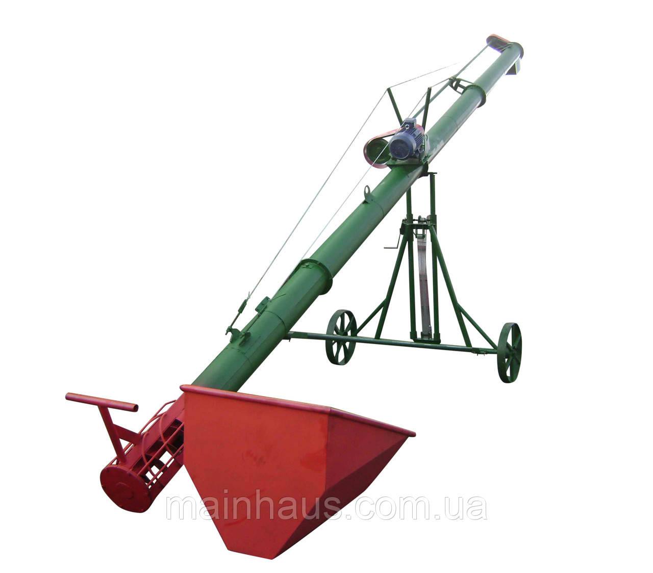 Погрузчик шнековый зерновой 200*7500*380