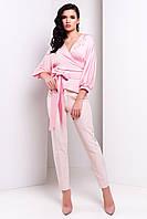 Элегантная шелковая блуза