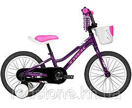 Велосипед TREK PRECALIBER 16 GIRLS фиолетовый, колеса 16¨ 2019
