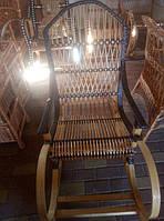 Кресло-качалка из лозы + ротанг