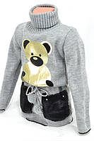 Детский кофты с мишкой     OK/SM  № 6068