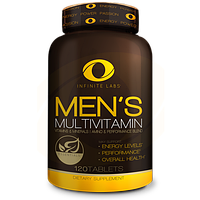 Infinite Labs Men's multivitamin 120 tab