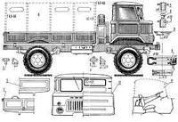 Заднє скло кабіни ГАЗ 66, триплекс