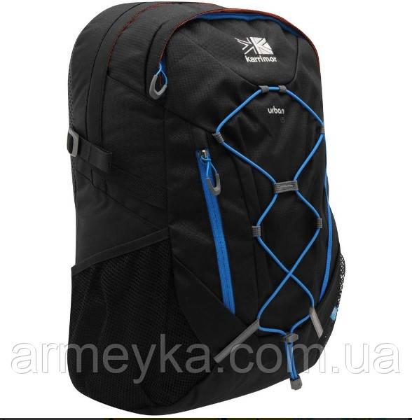 Рюкзак Karrimor Urban 30L, black/blue. Великобритания, оригинал
