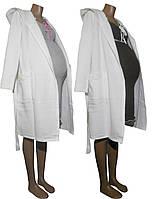 Теплый халат и ночная рубашка 02109 Капвиол для беременных и кормящих, р.р. 42-56