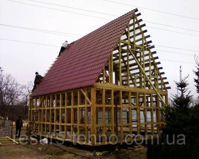 Как построить дачный домик своими руками.