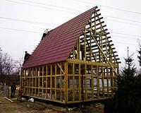 Як побудувати дачний будиночок своїми руками.