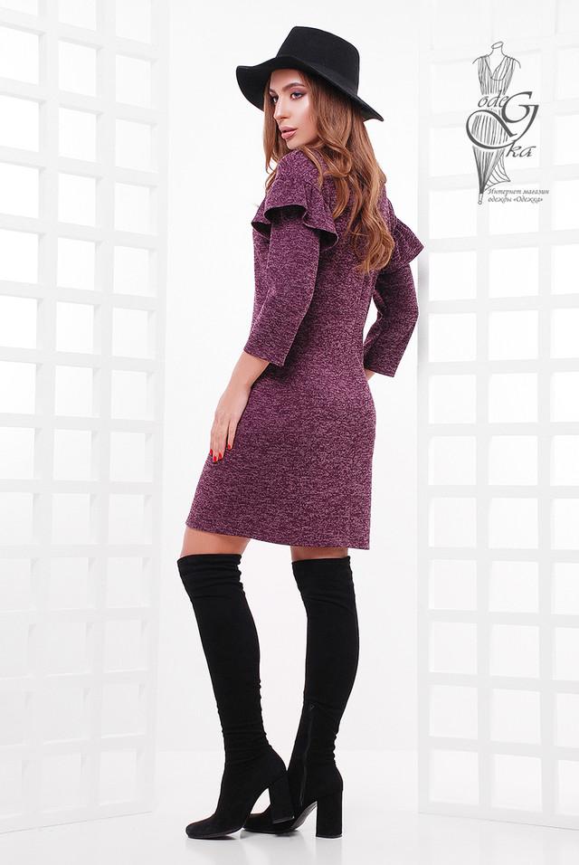 Фото-1 Ангорового женского платья Шайн