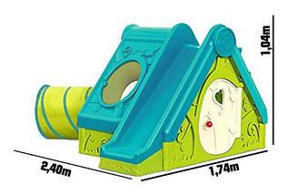 Игровой домик, горка, туннель XXL 3 в 1 Keter Funtivity, фото 3