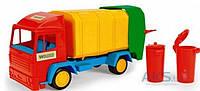 Игрушка Wader Mini truck - игрушечный мусоровоз (39211-2)