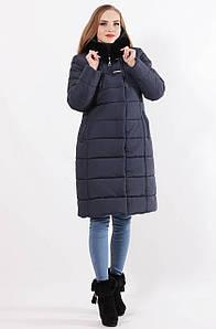 Женская зимняя куртка из плотной плащевки