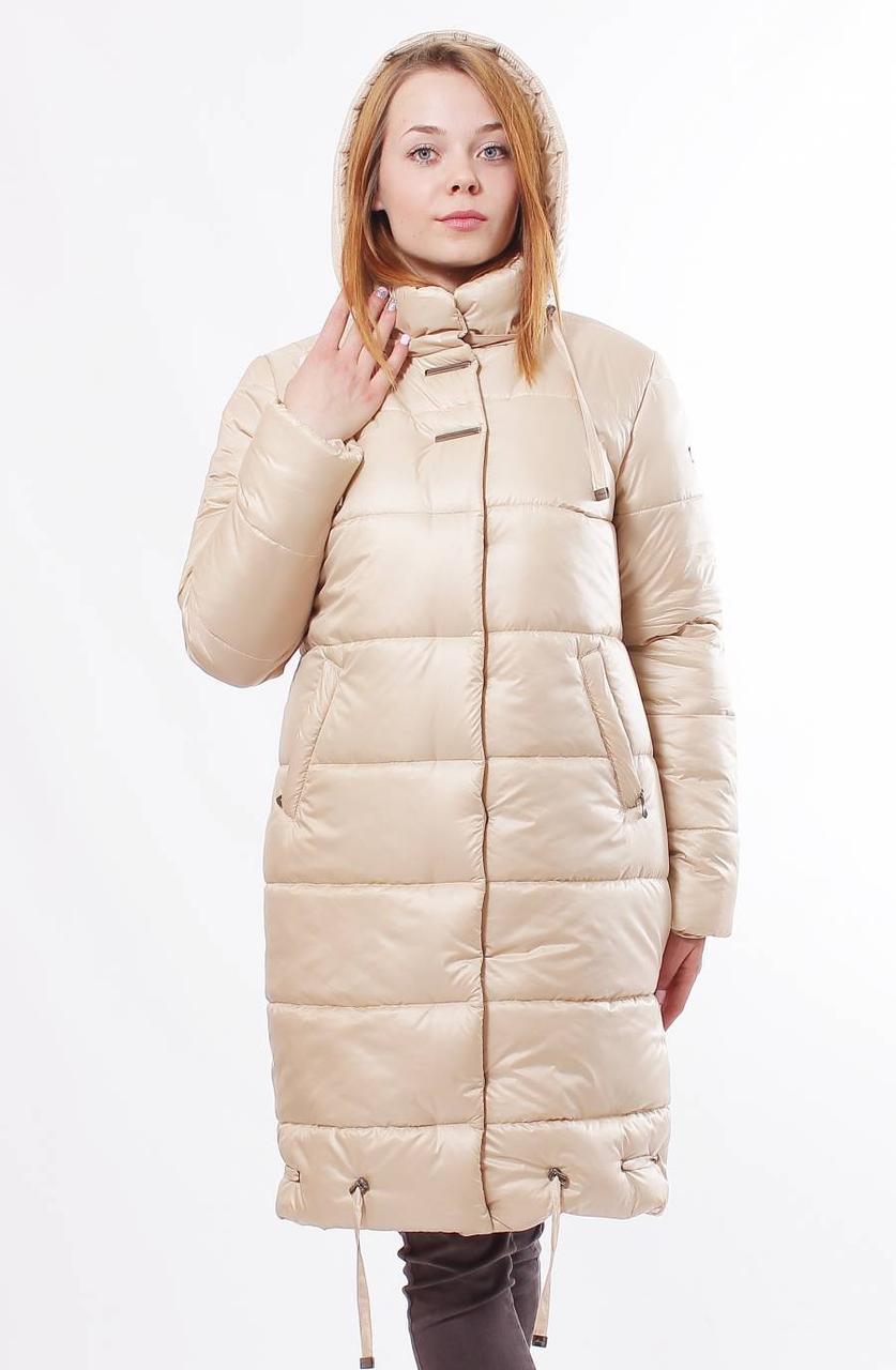 Стильная женская  зимняя куртка из плащевки