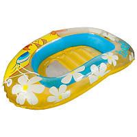 Круг для плавання Aqua-Speed дитячий Жовтий/змішаний Вініл (49873)
