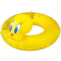 Плавальний круг Aqua-Speed (качка) Жовтий Гума (2674-T)