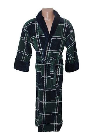 1e021311e537 Квадрат зелено-синий халат махровый мужской 4XL Sokuculer: продажа ...