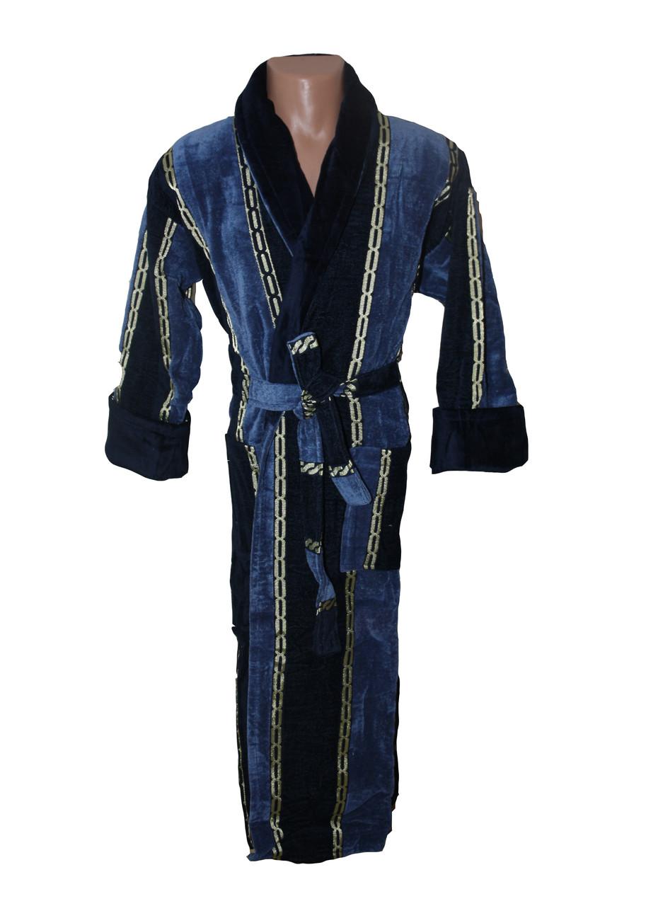 Цепь халат махровый мужской 4XL Sokuculer