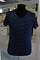 Мужская футболка ARMANI JEANS синяя