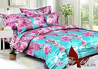 Комплект постельного белья  Семейный ТМ TAG Полисатин PS-BL078