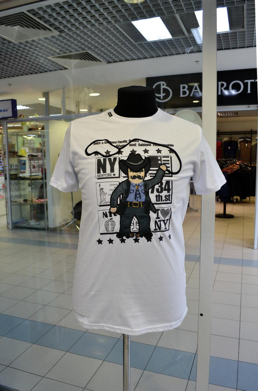 Мужская футболка DOLCE&GABBANA белая