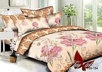 Комплект постельного белья  Семейный ТМ TAG Полисатин PS-BL134