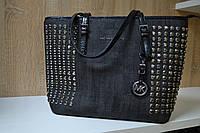 Женская сумка-шоппер Michael Kors серая
