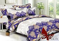 Комплект постельного белья  Семейный ТМ TAG Полисатин PS-BL175