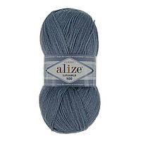 Alize Lanagold 800 серый 221 - 1 шт
