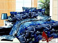 Комплект постельного белья  Семейный ТМ TAG Полисатин PS-BL332