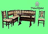 Кухонный уголок 2. Стол, уголок и стулья на кухню