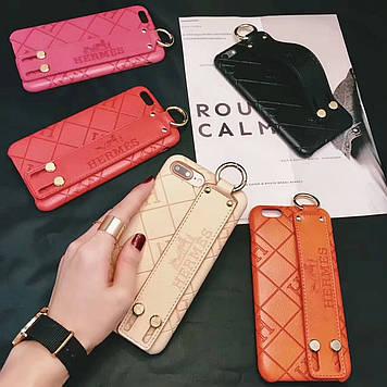"""Iphone 6 / 6s / 6plus оригинальный кожаный чехол панель бампер накладка НАТУРАЛЬНАЯ КОЖА """" Hermes """""""