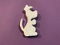 🔥 Распродажа! Собачка №3, 15 см, елочная игрушка из пенопласта