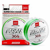 Шнур Lucky John BASARA Light Green 125m/0.11mm/5.75kg