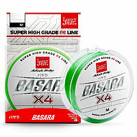 Шнур Lucky John BASARA Light Green 125m/0.13mm/6.9kg