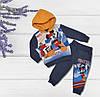 Теплый костюм с начесом на мальчика, 74 рост, Турция