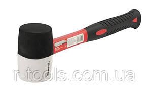 Киянка резиновая 450 г черно белая резина фибергласовая рукоятка MTX 111719