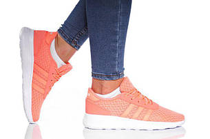 Кросівки Adidas Lite Racer W кораловий (AW3830) - 5.5 US 22.5см 36.5
