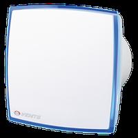 Вентилятор Вентс 125 ЛД Лайт ( синий), вентилятор на подшипнике, вентилятор бытовой.