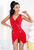 Откровенное платье-жилетка Gepur 16611