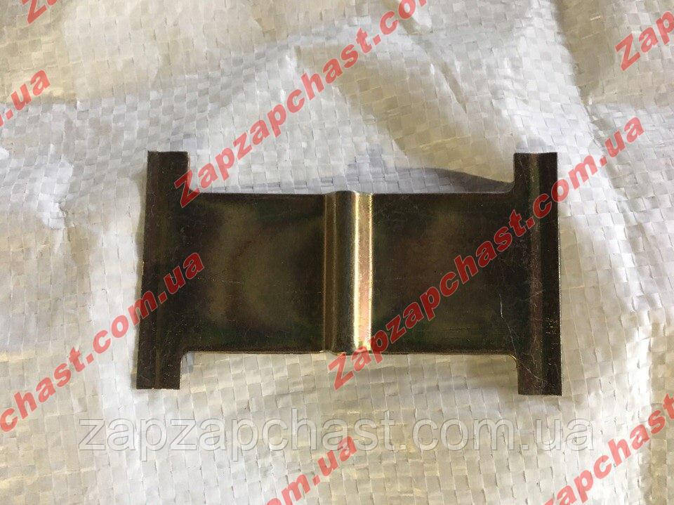 Пластина (пружина) передних тормозных колодок Заз 1102 1103 таврия славута