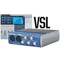 USB аудиоинтерфейс PreSonus AudioBox 22VSL