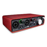 USB аудиоинтерфейс Focusrite Scarlett 2i2