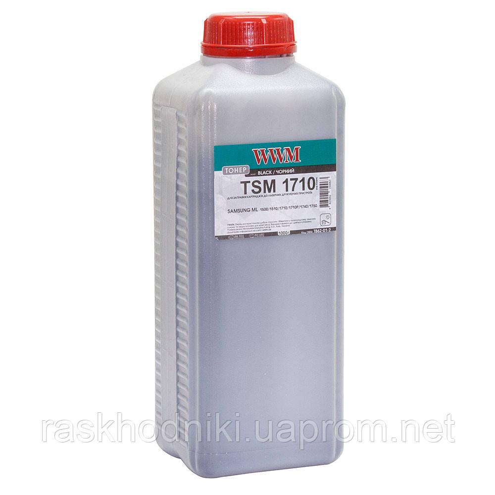 Тонер WWM для Samsung ML-1510/1710/1750 бутль 1000г Black