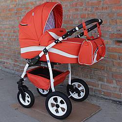 Детская коляска универсальная 2 в 1 Bebekitto Grono Imit 04 (Бебекитто, Польша)