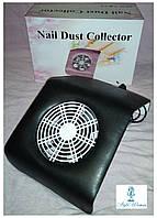 Вытяжка пылесос YRE 20вт для маникюрного стола маленькая 20*23см черная, фото 1