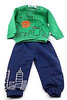 Детские костюмы 2 года Турция для мальчика детский костюм спортивные теплые, фото 1
