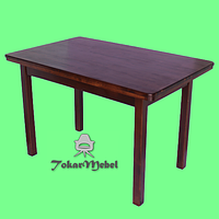 Стол из дерева для кафе Дельта, 180х80
